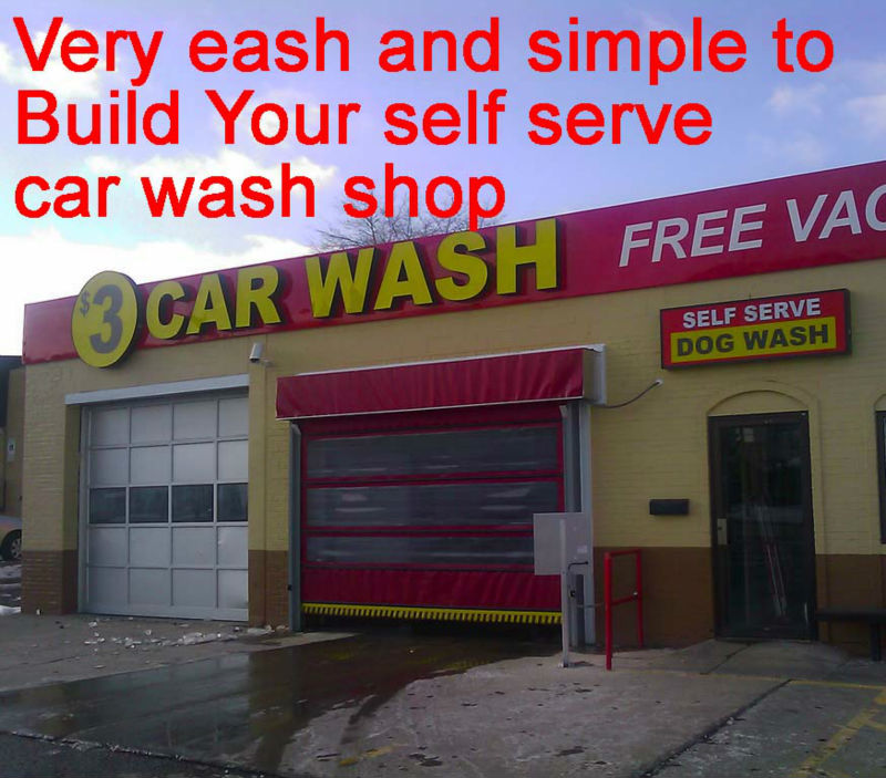 Self service car wash zaventem / Icoo coin 30