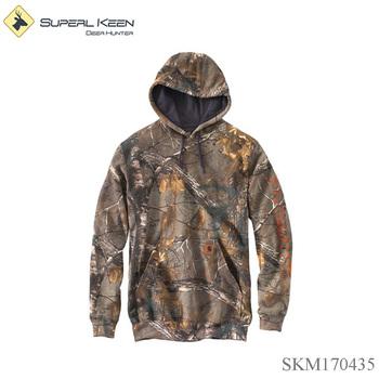 418d94538a1 Outdoor Men's Midweight Camo Sleeve Logo Hooded Sweatshirt - Buy ...