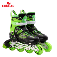 2020 Professional cougar factory cheap kids inline skate flashing roller