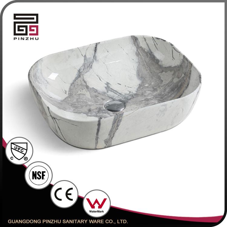 Wc Marmor Farbige Waschbecken Keramik Waschbecken Ovale Form Buy