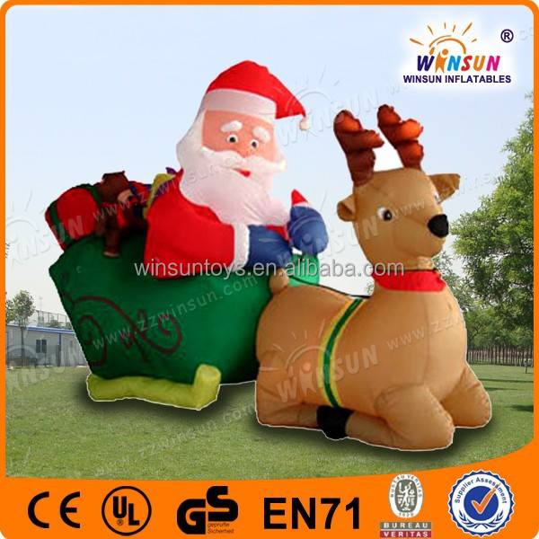 lowes outdoor inflatable light outdoor christma deer