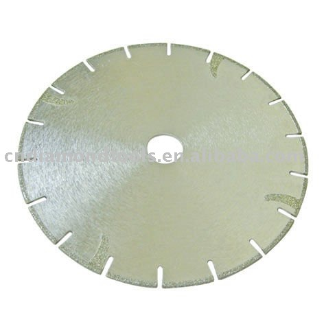 electroplated diamond circular saw blade for stone/tile/ceramic diamond grinding cutting saw blade