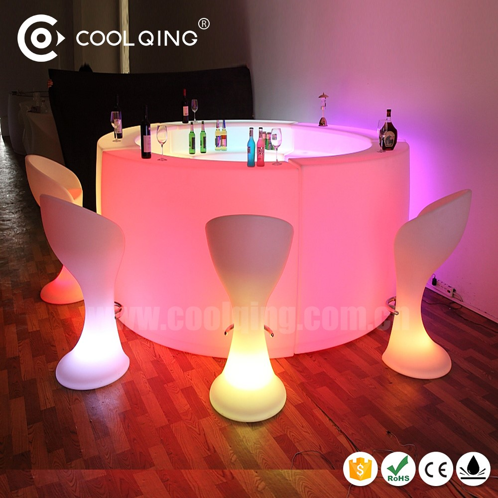 Coolqing Luminoso Barra Muebles Iluminaci N Barra Barril De Vino  # Muebles Luminosos