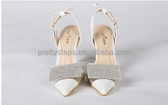 2014 fashion pointed toe women stylish high heel shoes shiny Pretty Steps guangzhou china