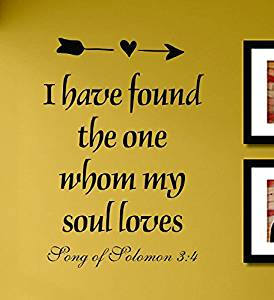 Buy I Have Found The One My Soul Loves Song Of Solomon Vinyl Wall