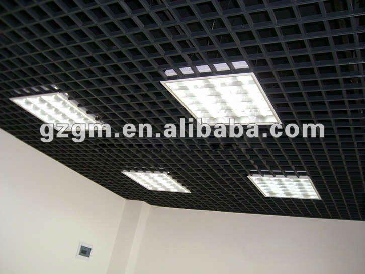 Aluminum Exposed Grid Ceiling Tile