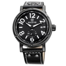 SKONE 9429 old style swiss army military watch for man
