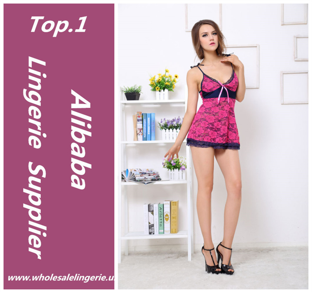 hot women rose lace brocade babydoll xxx sex china sexy lingerie