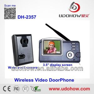 "3.5""LCD Wireless touch screen video intercoms(DH-2357)"