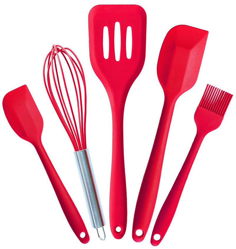 Easy To Wash And Handle And Use Cooking Odorless Silicone Kitchen Utensil