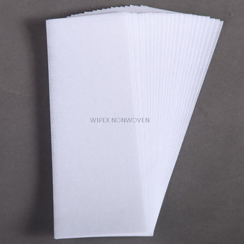 Premium quality Spunlace nonwoven hair removal depilatory wax strip