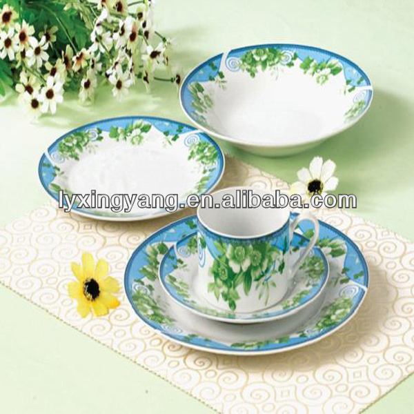 porcelain or ceramic Chinese white & blue porcelain