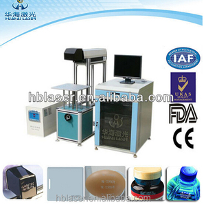 Cheap and hot 30W Co2 Beams laser etching machine with production line