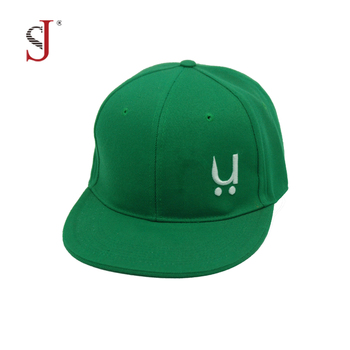 44e6e36c7c4bb High Quality Plain Blank Flexfit Snapback Caps Embroidered 3d Customised  Hats Green Hat