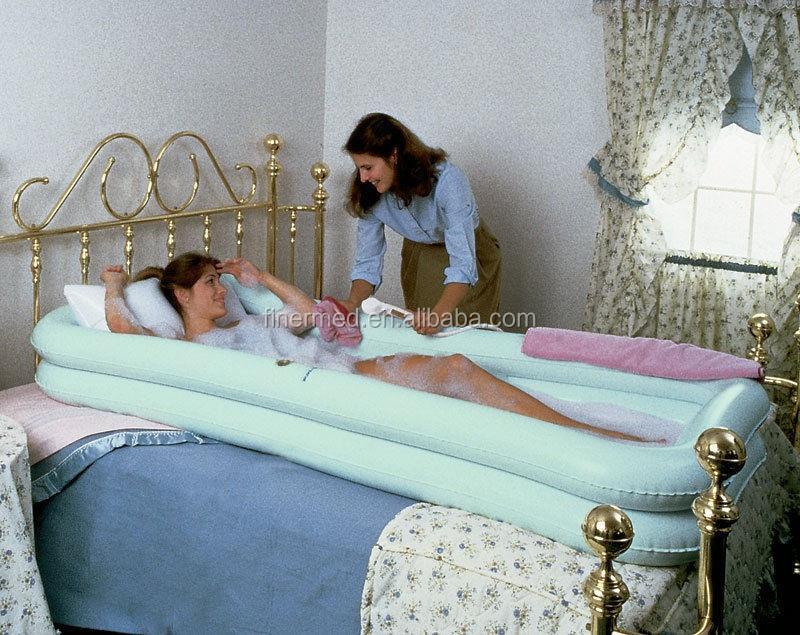 Air Inflatable Medical Bathtub Bed Bath