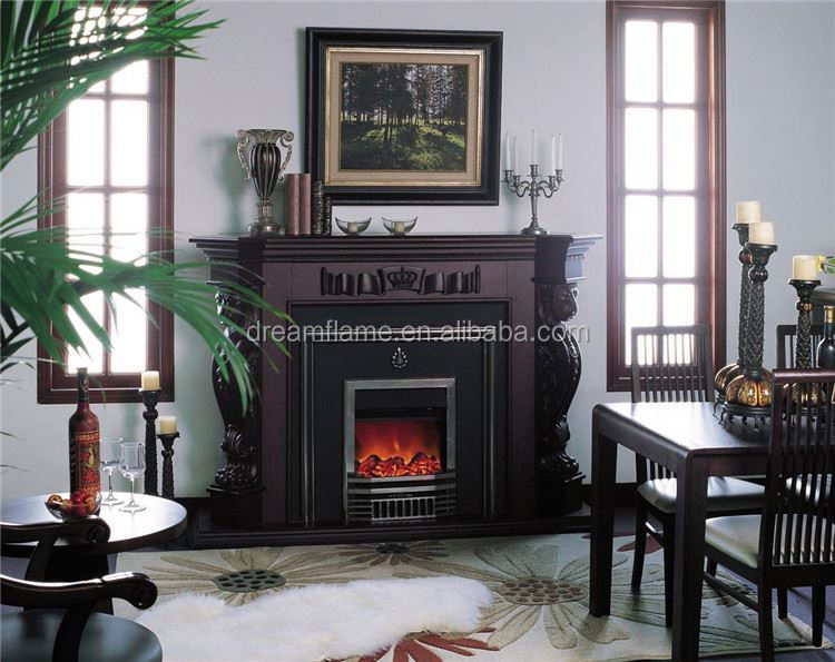 Hot selling attractive style wooden electrical fireplace mantel with competitive price