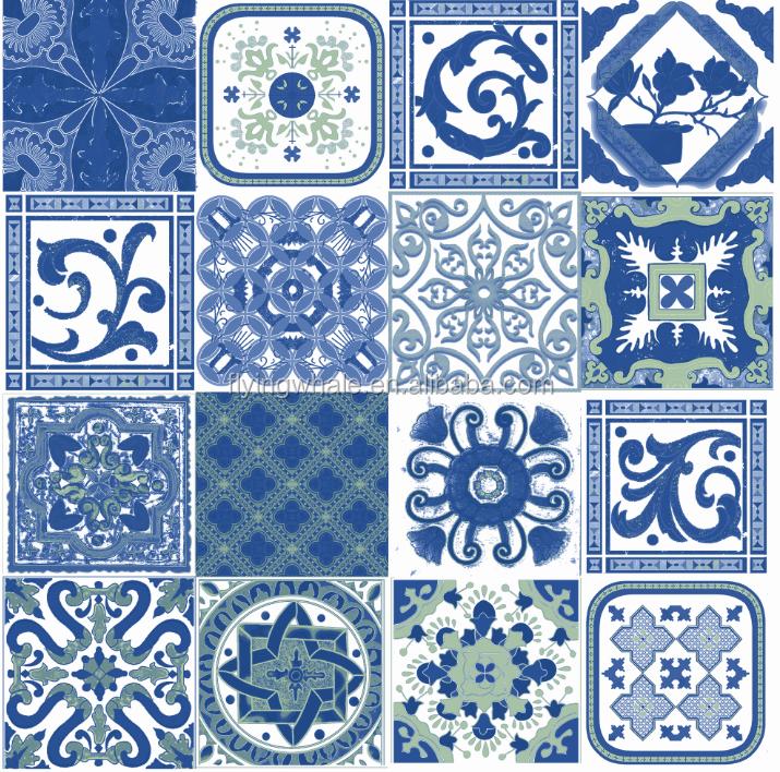 Decorazione piastrelle blu classic decorative piastrelle porcellana bianca e blu piastrelle di - Piastrelle decorative ...