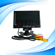 Vehicle 7 / 9 inches Standalone 12 volt dc lcd monitor With BNC Connector