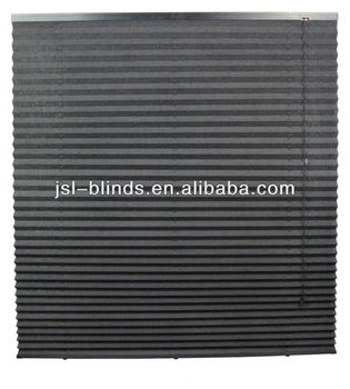 one way vision cord control hunter douglas paper pleated. Black Bedroom Furniture Sets. Home Design Ideas