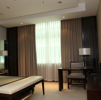 Fancy Hotel Curtain Motorized Drapes And Curtain Buy