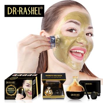 DR.RASHEL New Design Gold Collagen Magnetic Mask deep cleaning Anti-Wrinkle Whitening mud Face mask