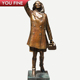 Modern Street Famous Actor Bronze Mary Tyler Moore Statue