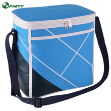 High quality nylon fabric insulated lining cooler bag lunch box bag
