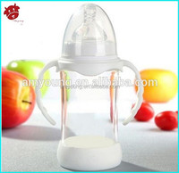 silicone base bottles funny baby nurser adult baby feeding bottle funny wide neck double bpa free glass nursing bottle