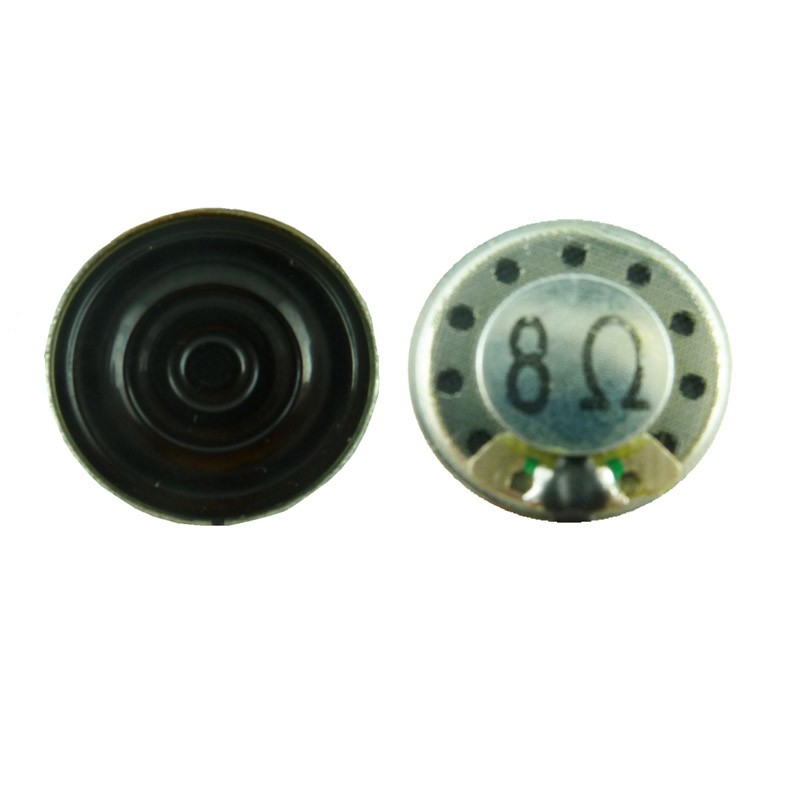 High quality new design speaker driver 20mm 8ohm 0.5w mini mylar speaker