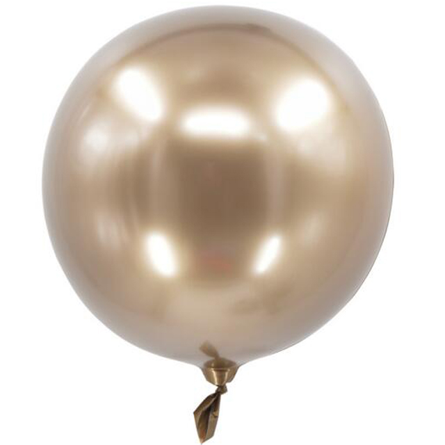 18 inch bright chrome metal color birthday party balloons creative wedding party gold metallic balloon