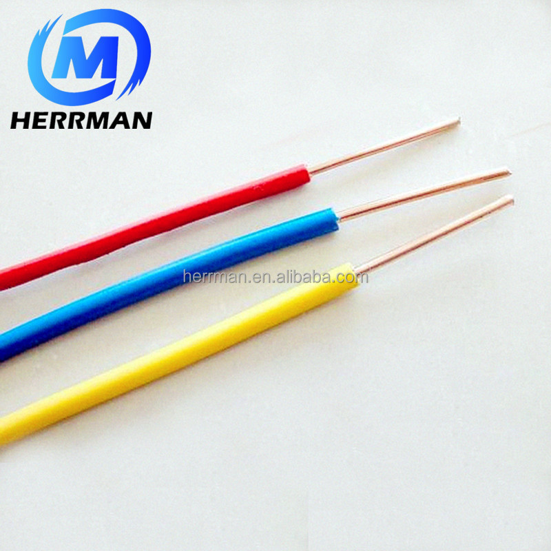 Single Core PVC insulated Electrical Wire and Cable
