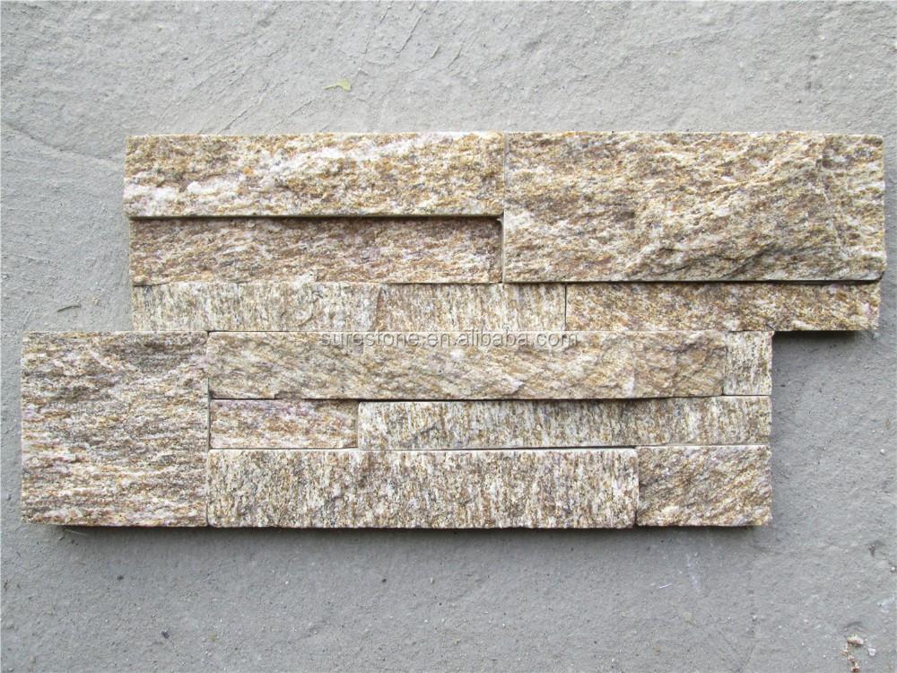 Sabbia superficie di pietra split rock muro esterno di piastrelle