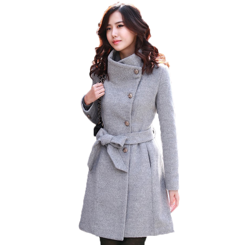 Woolen Cotton Winter Jackets Women Coats Jackets 2015