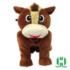Upgraded animal ride toy motorized toy stuffed animals