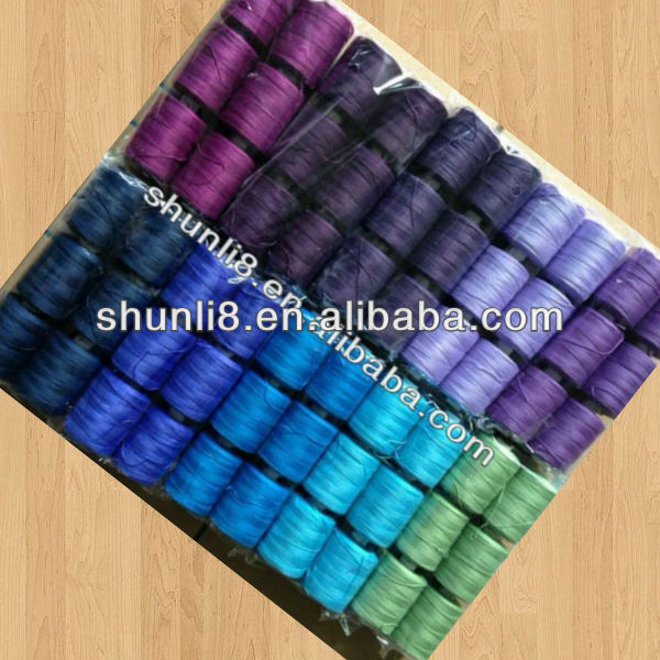 100% Spun Polyester Thread Any Size Any Color