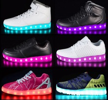 Perfect Christmas Gift Led Women/Men Shoes Led Sneakers