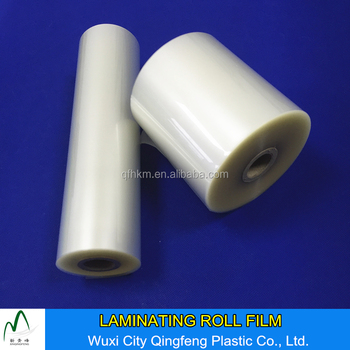 Clear Pet Film Glossy/matt 80mic 100mic 125mic Pet+eva Laminating Film Roll  - Buy Laminating Film Roll,Thermal Laminating Film,125mic Laminating