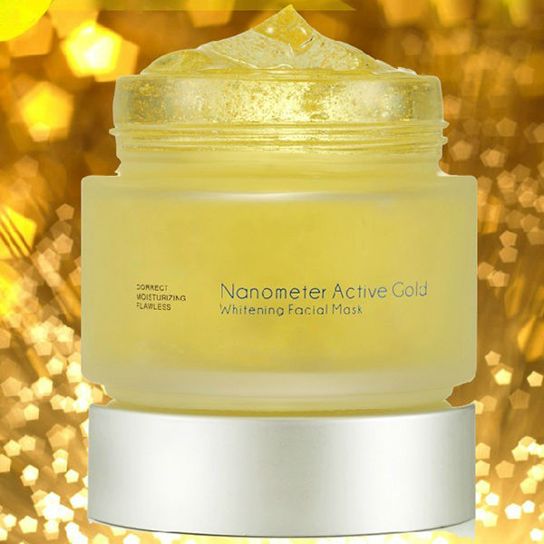 Private Label 24K Gold Whitening Facial Mask