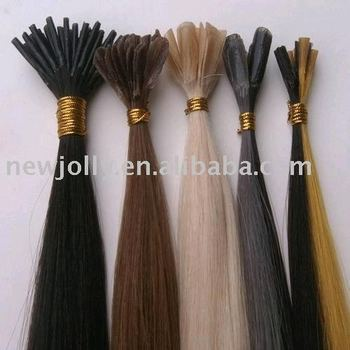 keratin glue hair extensions 100 remy human stick hair view