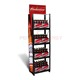 Vertical type alloy floor standing beer bottle storage rack