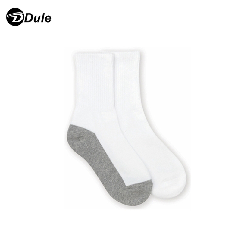 DL-I-1197 white socks kids children school white socks