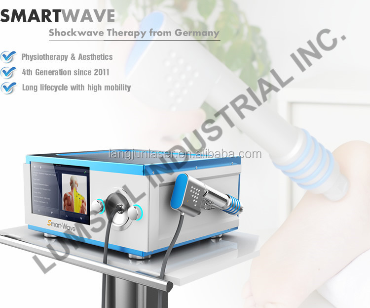 Professional shock wave therapy equipment shockwave joint pain treatment machine
