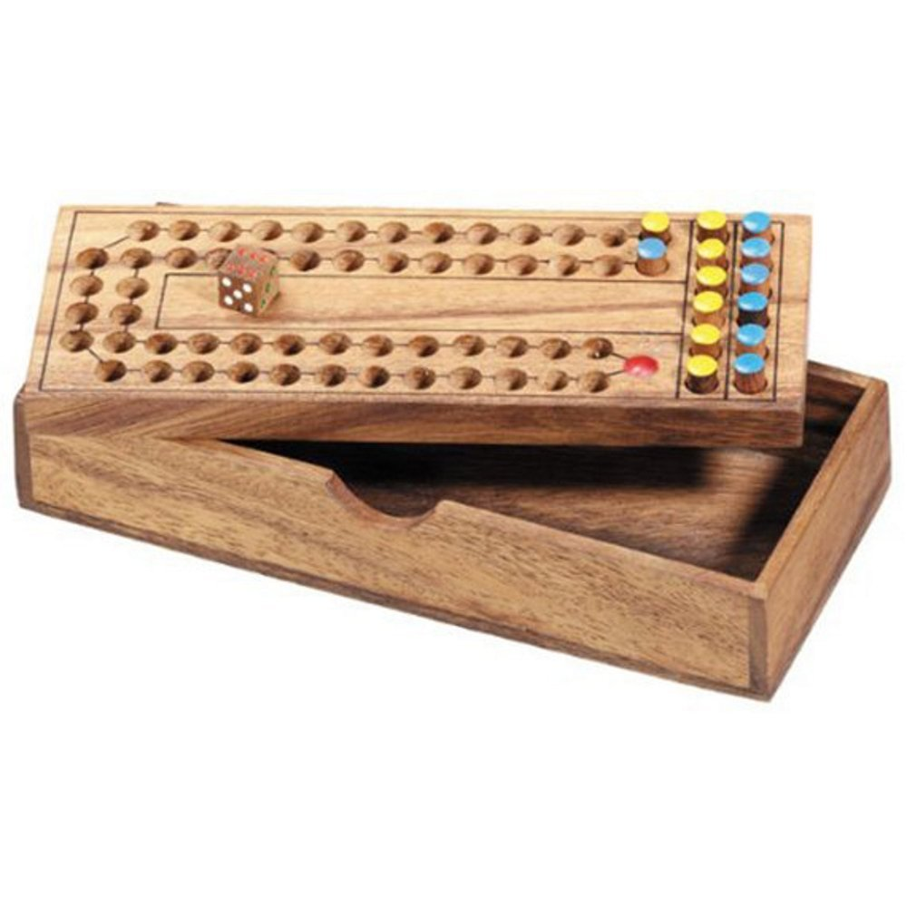 BRAIN GAMES Horse Racing Wooden Puzzle