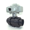 CTB-High traffic two way motorized pvc ball valve with electric actuator 220v 2inch 3inch to other electrical equipment