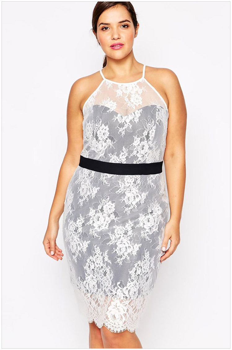 Cheap White Party Dresses For Plus Size Women, find White ...