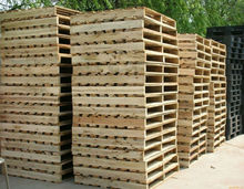 Wooden euro pallet size