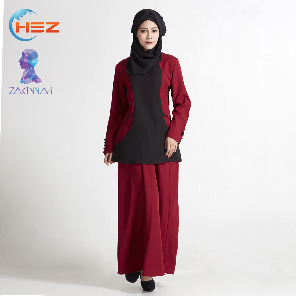 Zakiyyah MD826 Hot Item Muslim Dress for Women Wear Indonesia Clothing for Sale Designer Burqa Blouse
