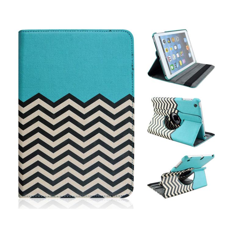 malen streifen tablette fall f r ipad mini ipad mini 2. Black Bedroom Furniture Sets. Home Design Ideas