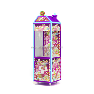 Factory price new-developed coin operated mini toys claw crane game machine candy crane for sale