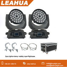 Promotion professinal lighting CE RoHS moving head led wash 360W zoom